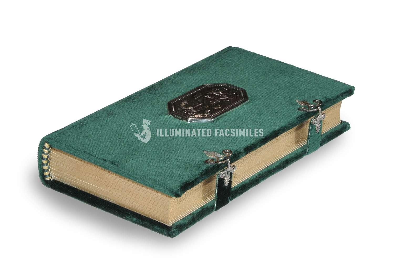ILLUMINATED FACSIMILES®, Treccani – Libro d'Ore di Margherita d'Austria e Alessandro de' Medici – photo 06, copyright Illuminated Facsimiles