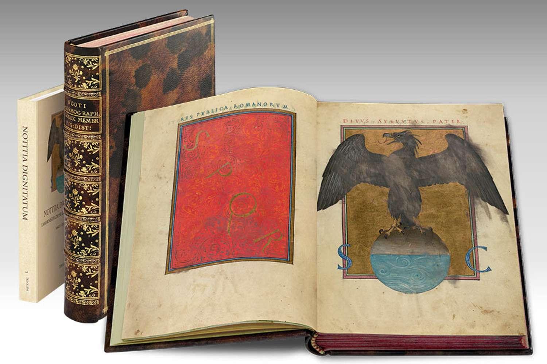 ILLUMINATED FACSIMILES®, Treccani – Notitia Dignitatum – photo 01, copyright Treccani