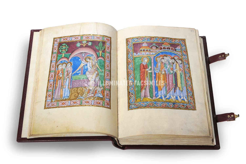 ILLUMINATED FACSIMILES®, Treccani – Salterio di St. Albans – photo 09, copyright Illuminated Facsimiles