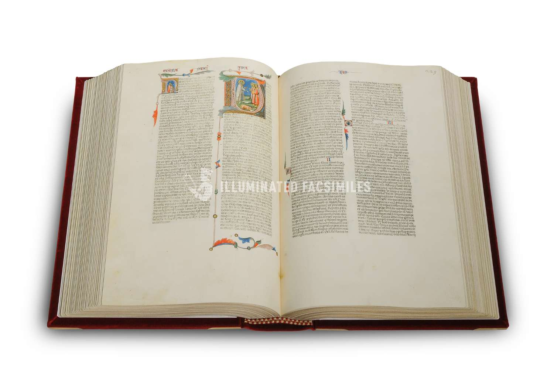 ILLUMINATED FACSIMILES®, Treccani – La Grande Bibbia di Pietro Cavallini – photo 08, copyright Illuminated Facsimiles