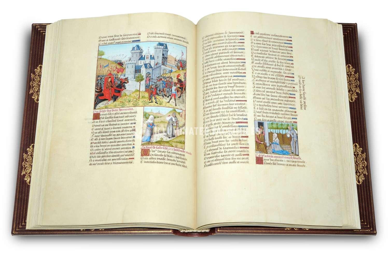 ILLUMINATED FACSIMILES®, Treccani – Roman de la Rose, copyright Illuminated Facsimiles – photo 02