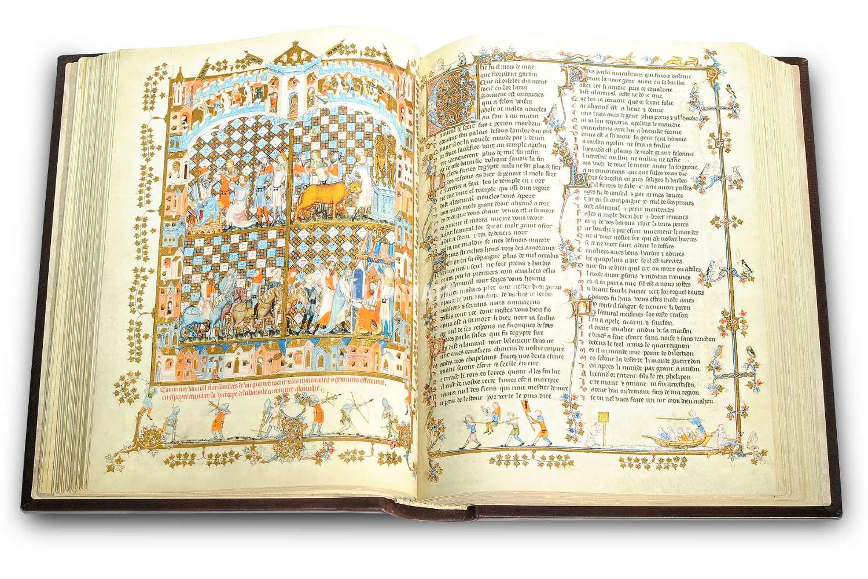 ILLUMINATED FACSIMILES®, Treccani – Romanzo di Alessandro Magno. Viaggi di Marco Polo, copyright Illuminated Facsimiles – photo 01